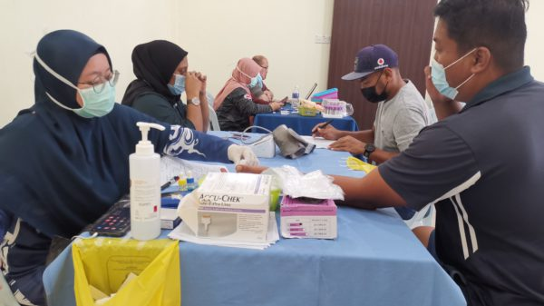 blood donation at ERC