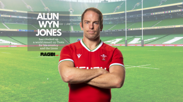 Alun Wyn Jones named as British & Irish Lions captain