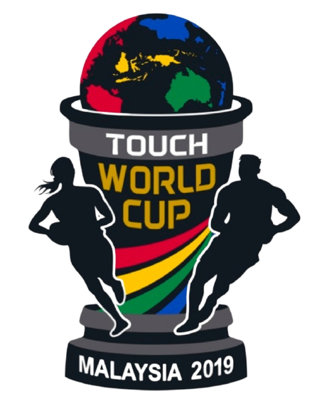Touch World Cup Malaysia 2019 logo